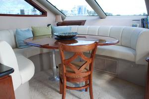 65' Marquis Cockpit M/Y 2006 Dining Room Table-  in place of Lower Helm