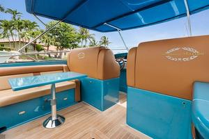 51' Magnum 51 Bestia 2013 On Deck Seating