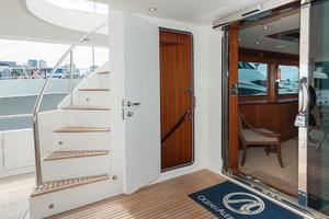 80' Ocean Alexander 80 Motoryacht 2010 Aft Deck