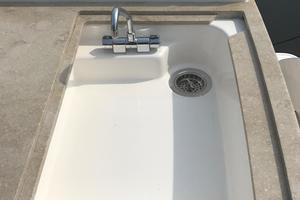 44' Tiara Q44 2017 Tiara Q 44 Summer Kitchen Sink (Never Used)