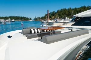 70' Ocean Alexander Evolution 2017 Bow seating