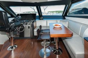 70' Ocean Alexander Evolution 2017 Table closed position