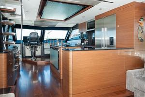 70' Ocean Alexander Evolution 2017 Helm and galley