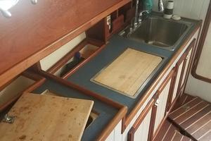 44' Kasten Marine Designed 44 Redpath Schooner 2013 Starboard Galley