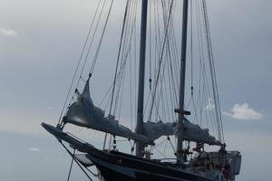 44' Kasten Marine Designed 44 Redpath Schooner 2013 Tesha at Anchor