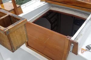 44' Kasten Marine Designed 44 Redpath Schooner 2013 Aft Cabin Companionway