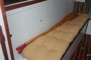 44' Kasten Marine Designed 44 Redpath Schooner 2013 Main Cabin Port Settee