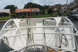 44' Kasten Marine Designed 44 Redpath Schooner 2013 Tender on Stern Davits