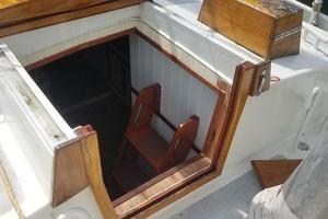 44' Kasten Marine Designed 44 Redpath Schooner 2013 Main Cabin Companionway