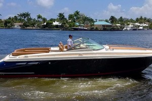 36' Chris-Craft Corsair 36 2013 Starboard View