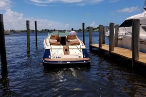 36' Chris-craft Corsair 36 2013 Stern View