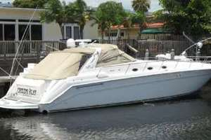 50' Sea Ray Sundancer 1998 Dock Profile
