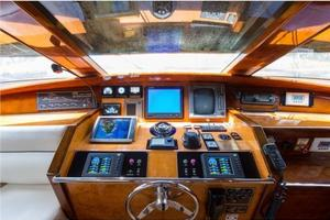 80' Nova Marine Supernova 80 2000 Pilothouse helm
