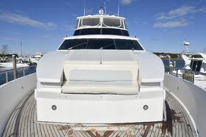 70' Horizon 70 Motor Yacht 1999 Updated Bow Cushions