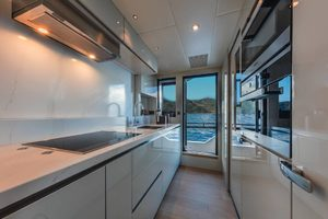 Absolute Navetta 73-2019-ON ORDER ON ORDER, NY-United StatesGalley with  Side Door to Deck  1202154 thumb