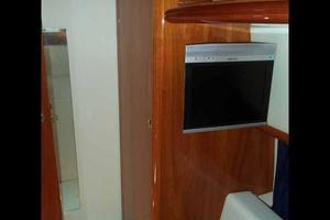 48' Cranchi Atlantique 48 2005 Port Guest Cabin Looking Forward