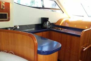 48' Cranchi Atlantique 48 2005 Galley Looking Forward