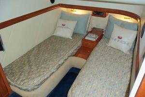 48' Cranchi Atlantique 48 2005 Starboard Guest Cabin Looking Aft