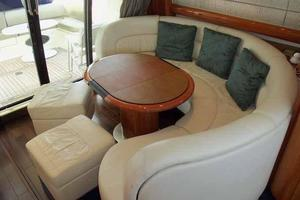 48' Cranchi Atlantique 48 2005 Salon Dining Table Configuration