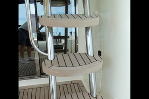 48' Cranchi Atlantique 48 2005 Faux Teak Ladder Steps