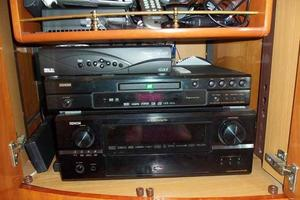 48' Cranchi Atlantique 48 2005 Salon Entertainment Center