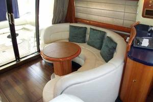 48' Cranchi Atlantique 48 2005 Salon Cocktail Table Configuration