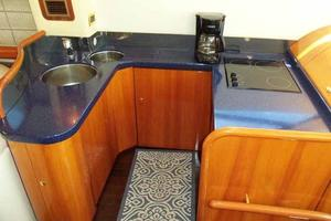 48' Cranchi Atlantique 48 2005 Galley Looking to Port