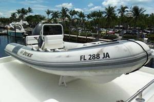 74' Hatteras Motoryacht Sport Deck 1996 14' RIB Tender