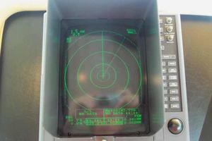 74' Hatteras Motoryacht Sport Deck 1996 Pilothouse Radar