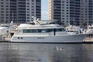 74' Hatteras Motoryacht Sport Deck 1996 Alternate Profile