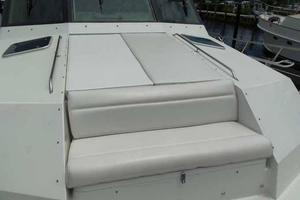 74' Hatteras Motoryacht Sport Deck 1996 New Bow Cushions