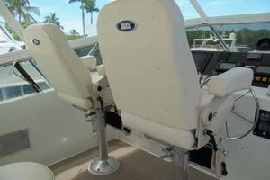 74' Hatteras Motoryacht Sport Deck 1996 New Helm Chairs