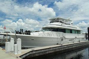 74' Hatteras Motoryacht Sport Deck 1996 Home Dock
