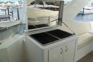 74' Hatteras Motoryacht Sport Deck 1996 Grill Cabinet