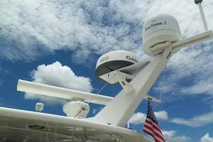 74' Hatteras Motoryacht Sport Deck 1996 Hardtop Equipment