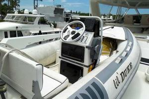 74' Hatteras Motoryacht Sport Deck 1996 Tender