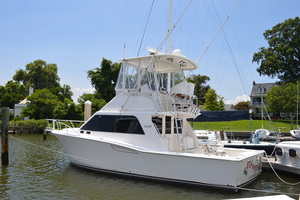 35' Cabo 35 Convertible 2002 Port Side Aft