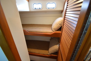 35' Cabo 35 Convertible 2002 Port Side Bunk Room