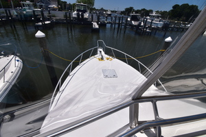35' Cabo 35 Convertible 2002 Bow From Flybridge