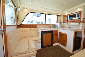 35' Cabo 35 Convertible 2002 Port Side Galley