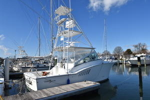 Moonstruck Bay is a Albemarle 33XF Yacht For Sale in Hampton--8
