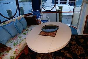 46' Bertram Motor Yacht 1974 Wing doors port and starboard
