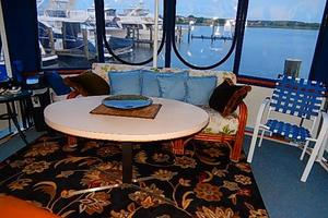 46' Bertram Motor Yacht 1974 Converts to coffee table