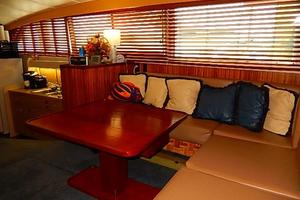 46' Bertram Motor Yacht 1974 Recent custom teak window shades
