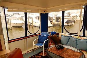 46' Bertram Motor Yacht 1974 Aft enclosure great for fall cruising