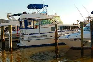 46' Bertram Motor Yacht 1974 Dock side