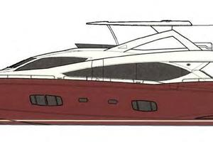 88' Sunseeker Flybridge Motoryacht 2009 Profile Layout