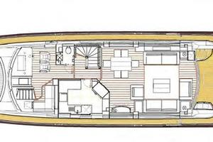 88' Sunseeker Flybridge Motoryacht 2009 Main Deck Layout