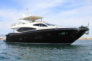 88' Sunseeker Flybridge Motoryacht 2009 Starboard Profile