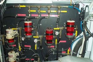 68' Stephens LRC/Trawler 1978 Fuel System
